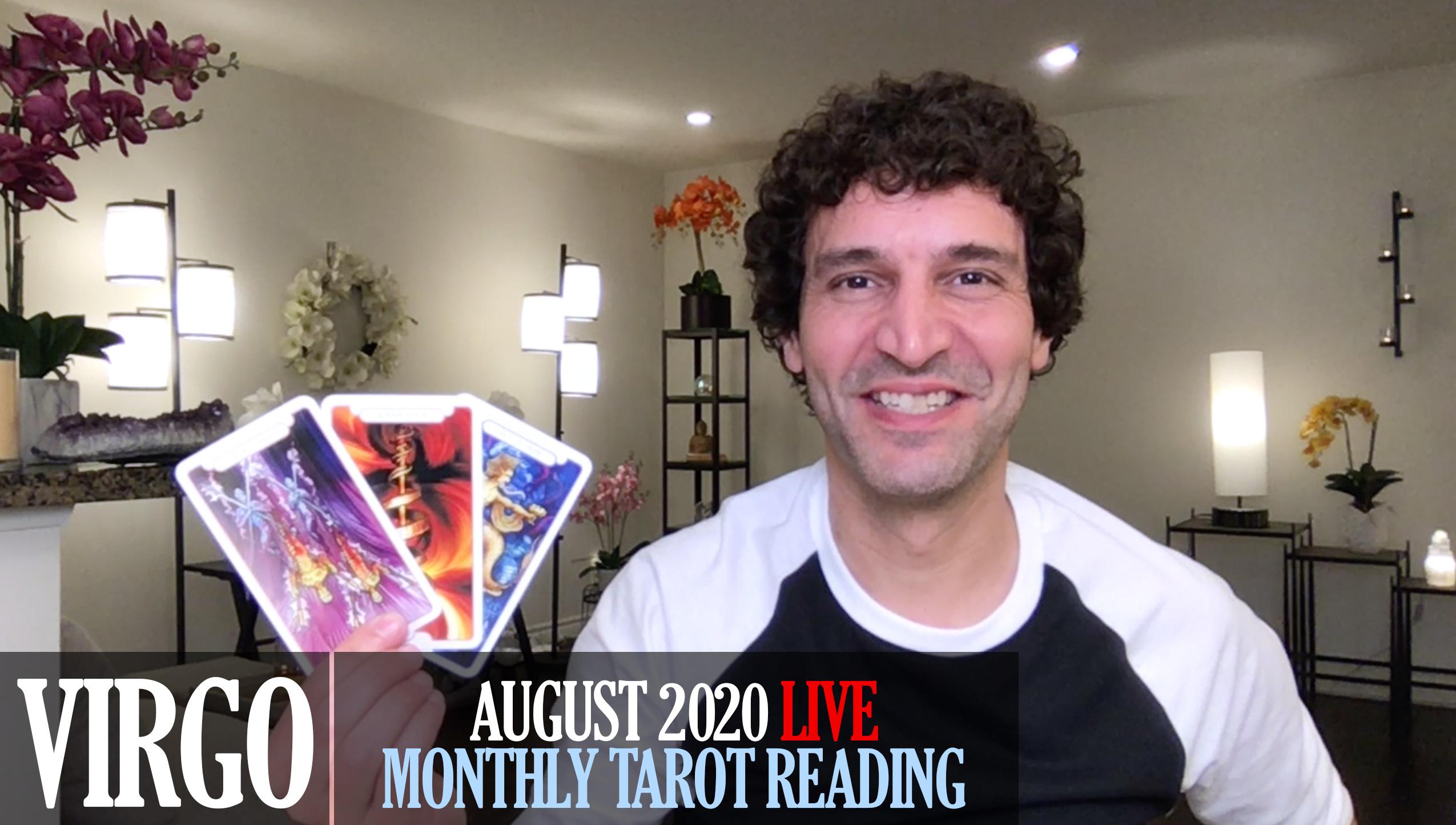 VIRGO August 2020 Tarot Reading