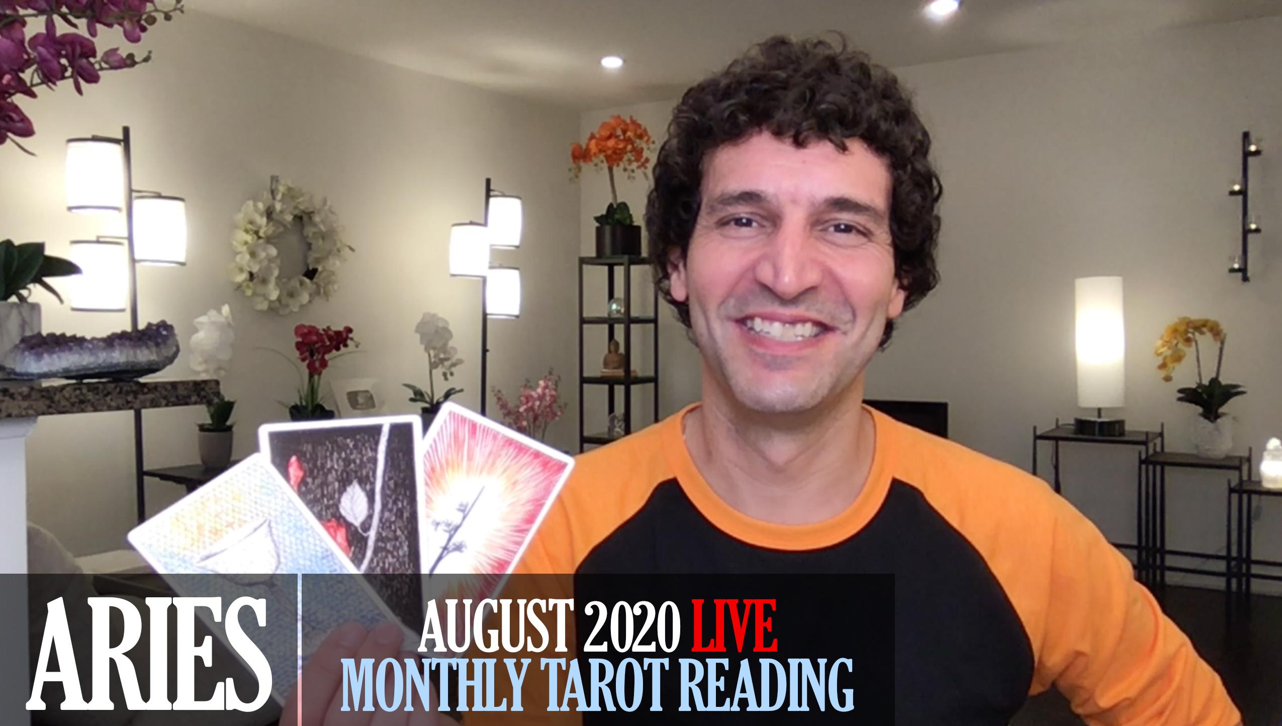 Aries August 2020 Tarot Reading