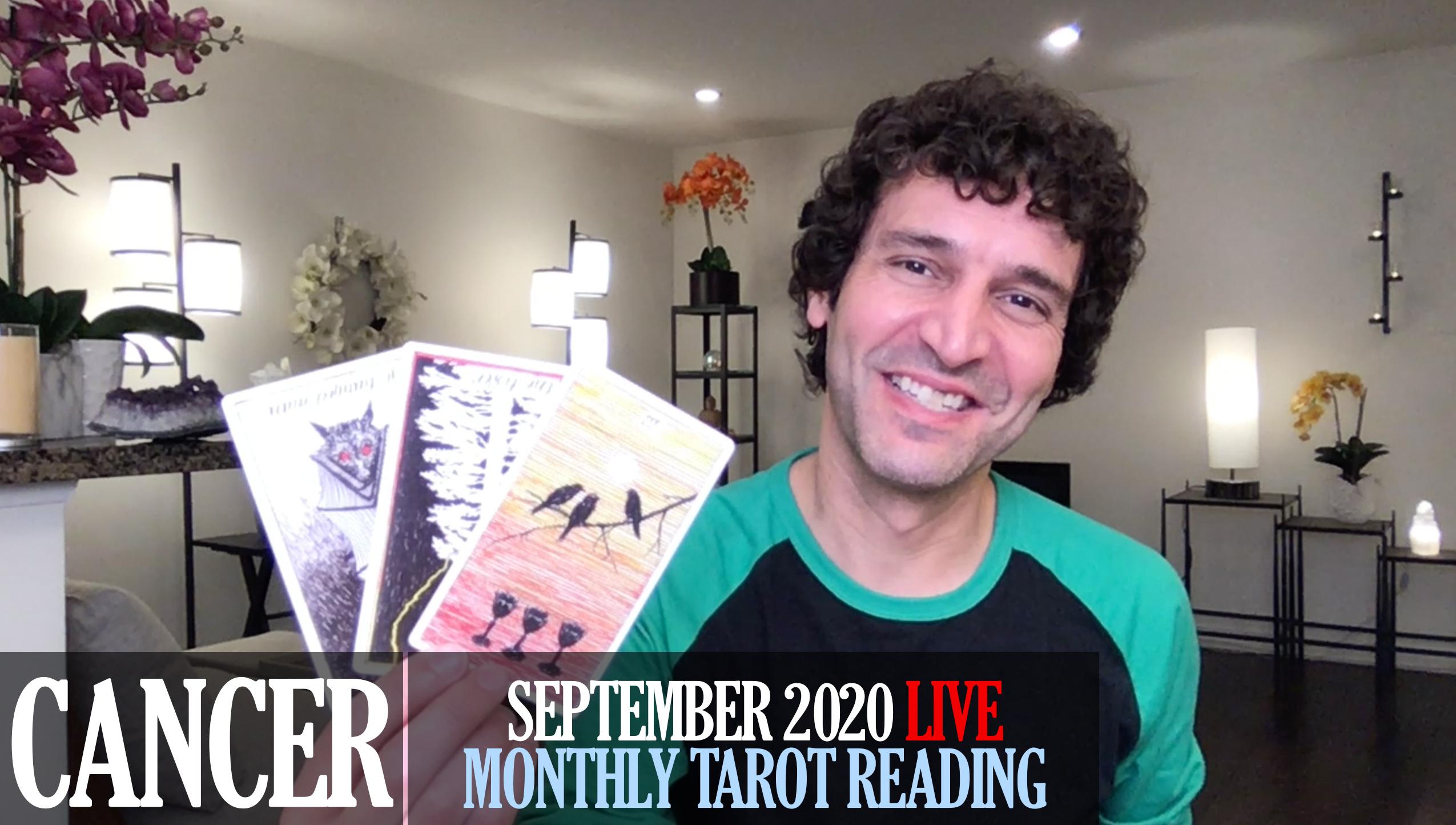Cancer September 2020 Tarot Reading