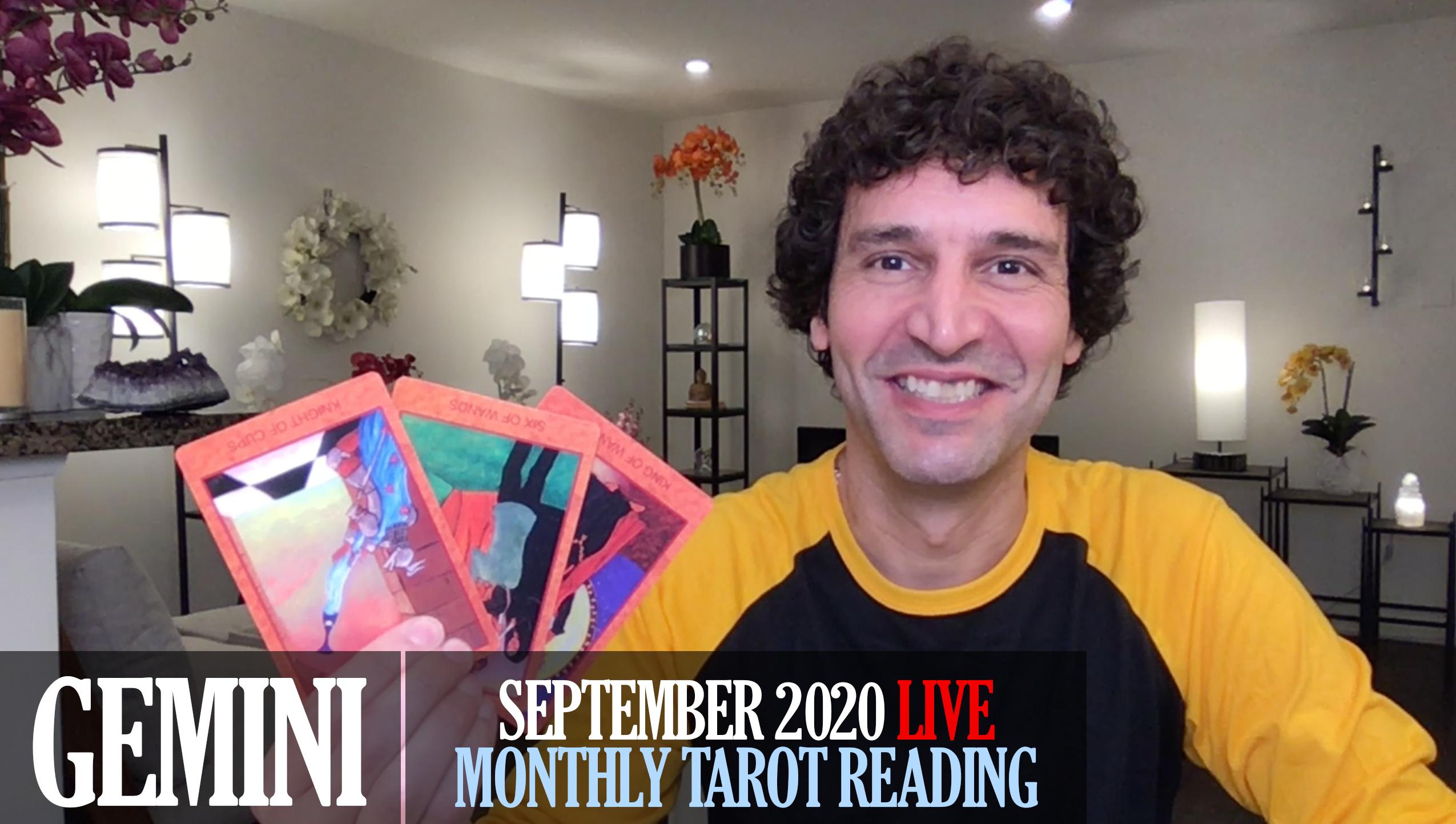 Monthly September 2020 Tarot Reading